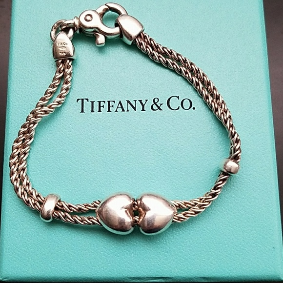 6d1b13e6c Tiffany &Co. Double Rope Sliding Hearts Bracelet. M_5a468b5af9e501512b11b83e